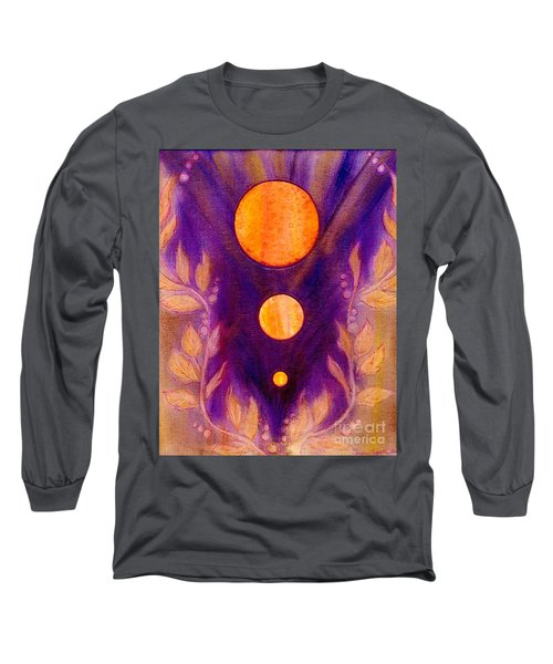 Captured Spirit Long Sleeve T-Shirt by Desiree Paquette
