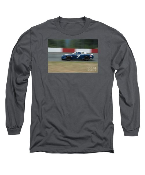 Car 7 In The Turn. Long Sleeve T-Shirt