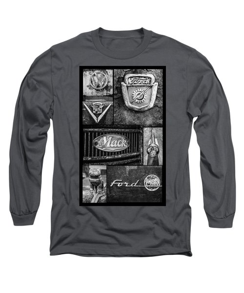 Car Emblems Long Sleeve T-Shirt