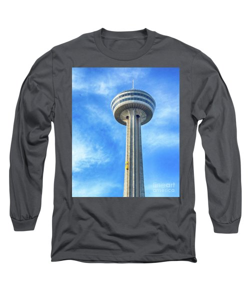 Car On Skylon Tower Long Sleeve T-Shirt