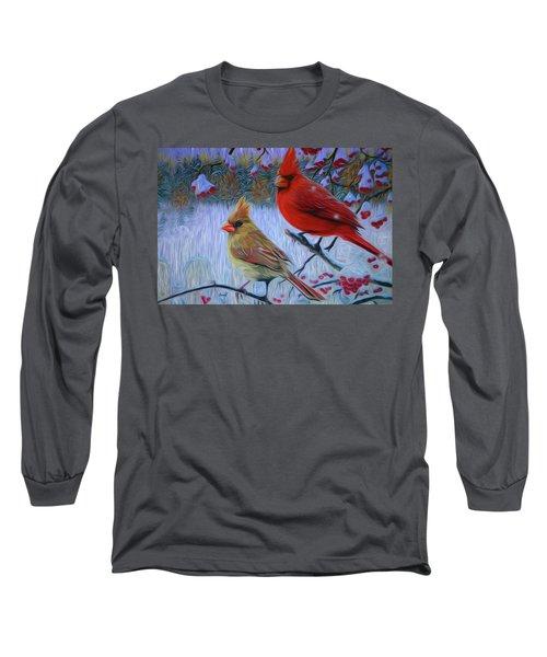Cardinal Family Long Sleeve T-Shirt