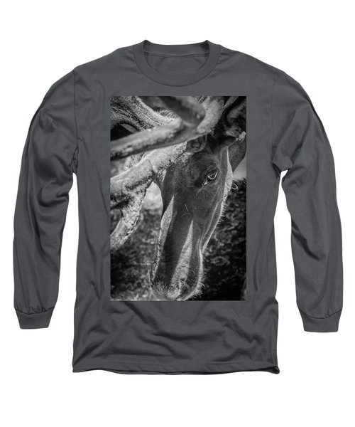 Caribou Black And White Long Sleeve T-Shirt
