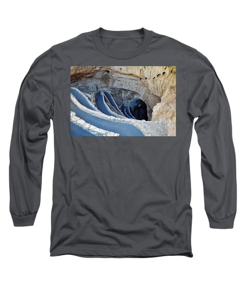 Carlsbad Caverns Natural Entrance Long Sleeve T-Shirt