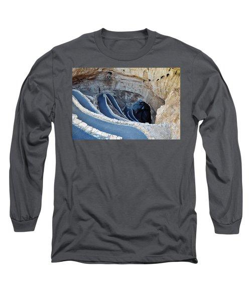 Carlsbad Caverns Natural Entrance Long Sleeve T-Shirt