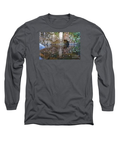 Long Sleeve T-Shirt featuring the photograph Carlson Creek by Sandra Updyke
