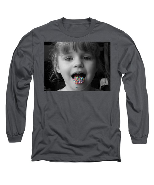 Carly With Hundreds And Thousands Long Sleeve T-Shirt