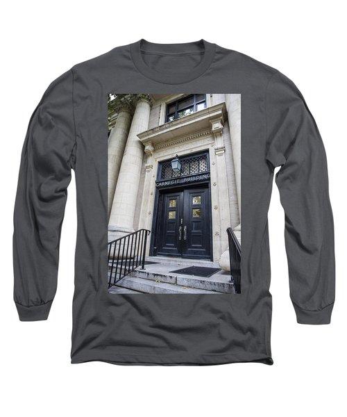 Carnegie Building Penn State  Long Sleeve T-Shirt