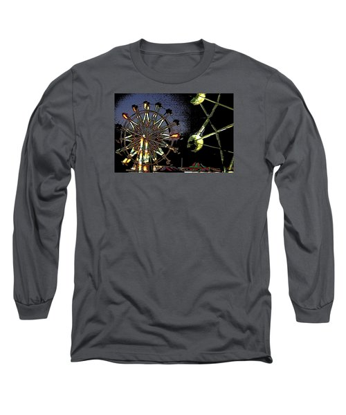 Long Sleeve T-Shirt featuring the photograph Carnival by Donna G  Smith
