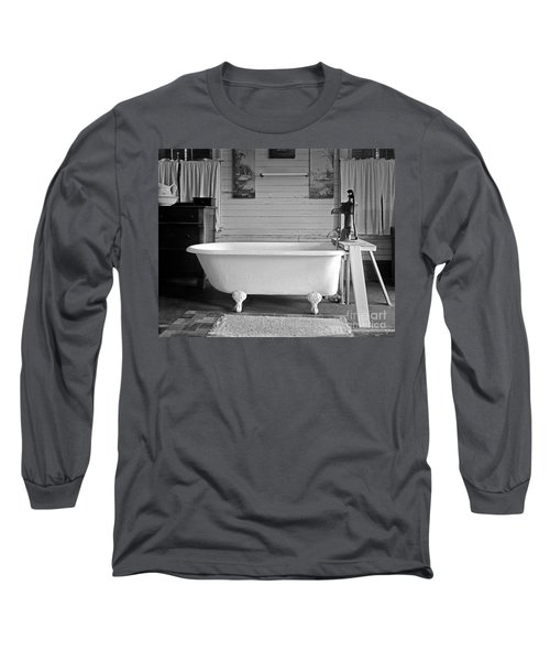 Long Sleeve T-Shirt featuring the photograph Caroline's Key West Bath by John Stephens