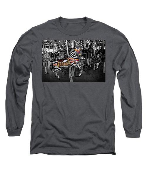 Carousel Zebra Series 2222 Long Sleeve T-Shirt