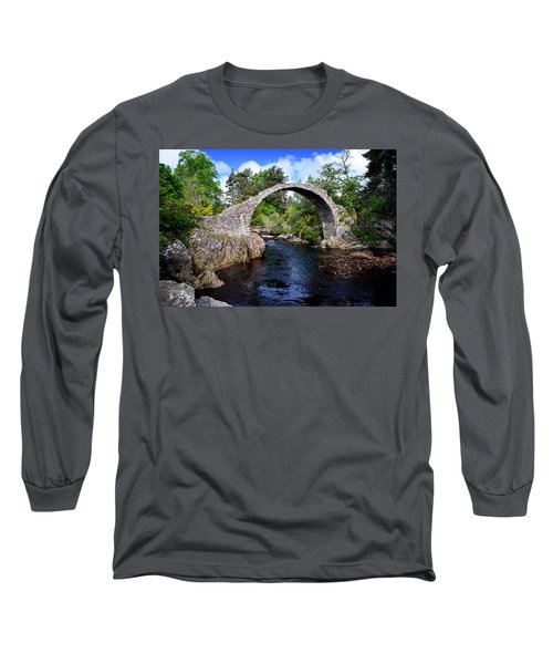 Carr Bridge Scotland Long Sleeve T-Shirt