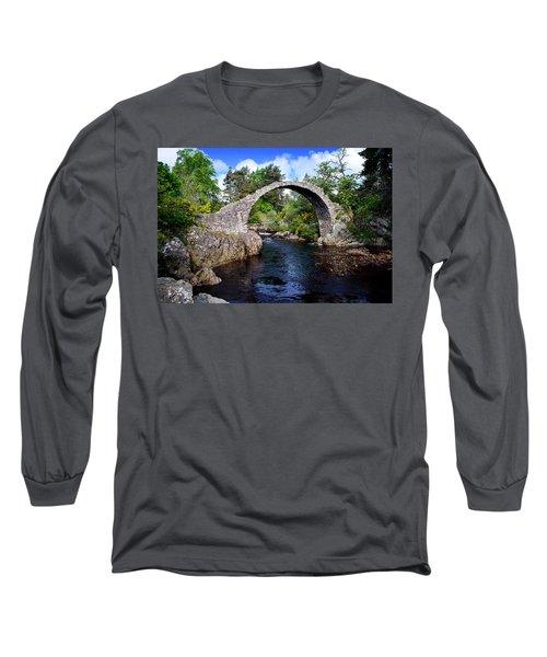 Carr Bridge Scotland Long Sleeve T-Shirt
