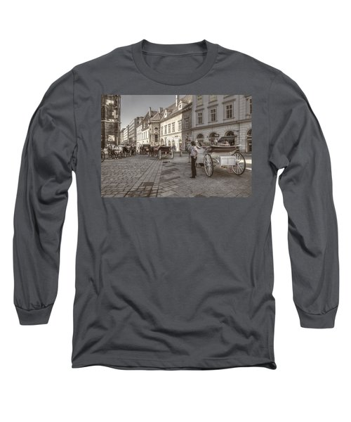 Carriages Back To Stephanplatz Long Sleeve T-Shirt