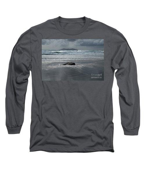 Carrowniskey Beach Long Sleeve T-Shirt