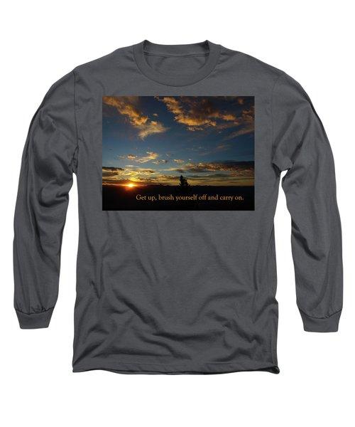 Carry On Sunrise Long Sleeve T-Shirt