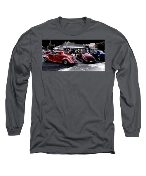 Cars On The Strip Long Sleeve T-Shirt