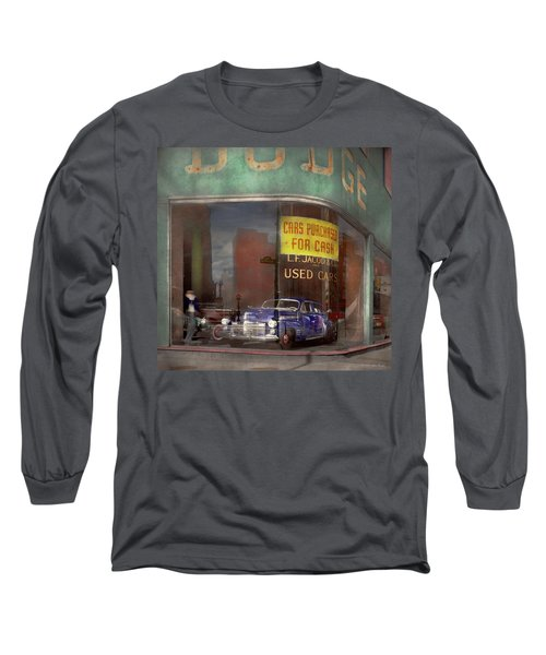 Cars - Used - Cars Purchased For Cash 1943 Long Sleeve T-Shirt
