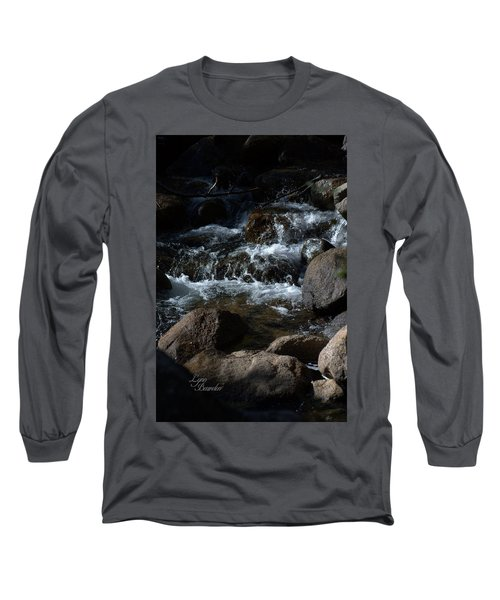 Long Sleeve T-Shirt featuring the photograph Carson River by Lynn Bawden