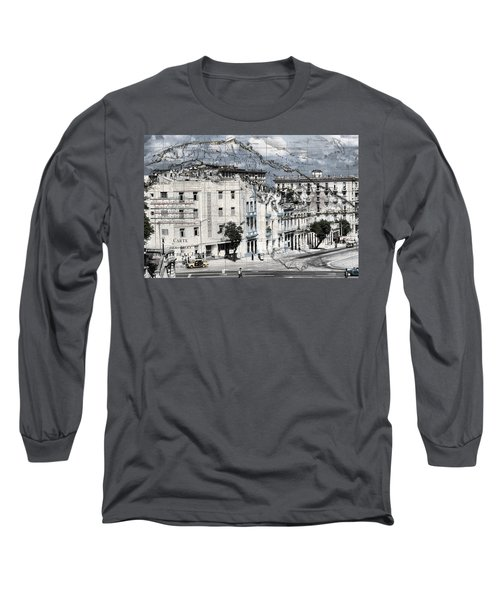 Carte Isle De Cuba Long Sleeve T-Shirt