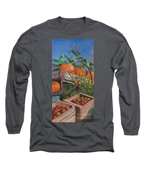 Cartloads Of Pumpkins Long Sleeve T-Shirt