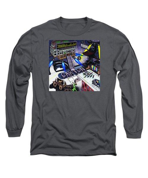 Carton Album Cover Artwork Front Long Sleeve T-Shirt