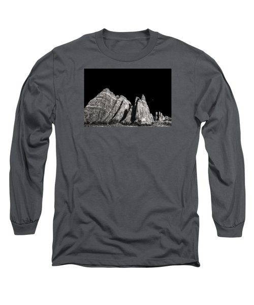 Long Sleeve T-Shirt featuring the digital art Carved By The Hands Of Ancient Gods by William Fields