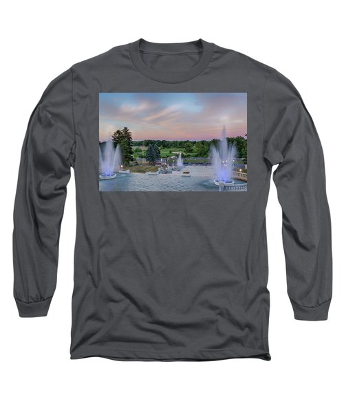 Cascade Falls Jackson Mi 2 Long Sleeve T-Shirt