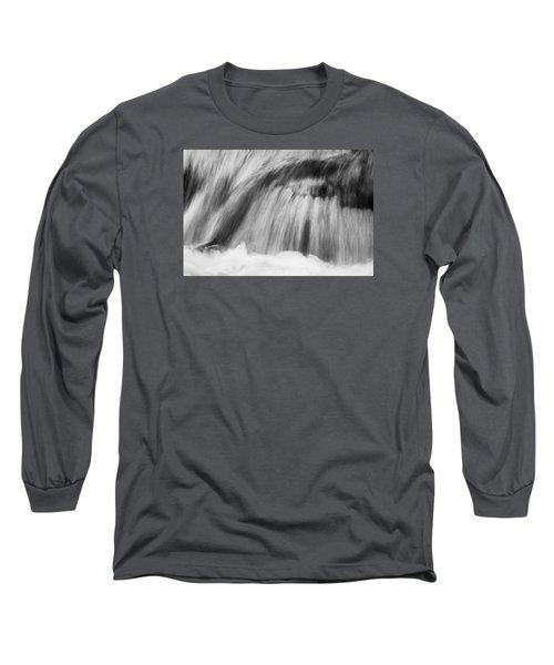 Cascade In Monochrome Long Sleeve T-Shirt