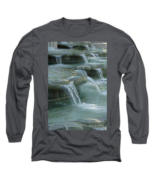 Cascading Fountain Long Sleeve T-Shirt