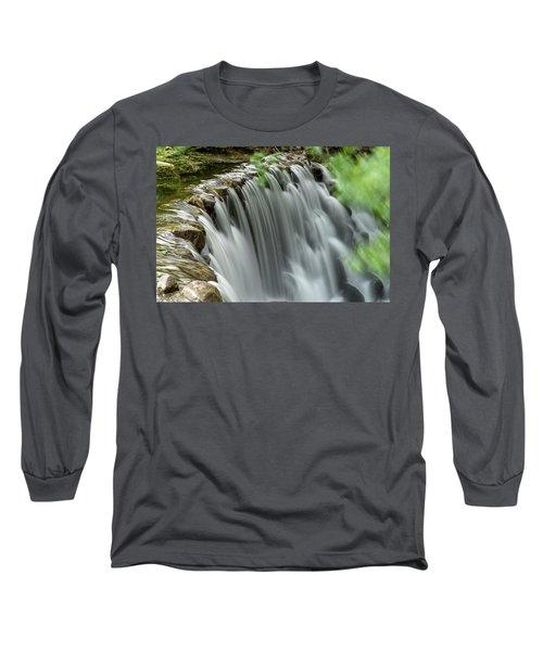 Cascading Water Long Sleeve T-Shirt