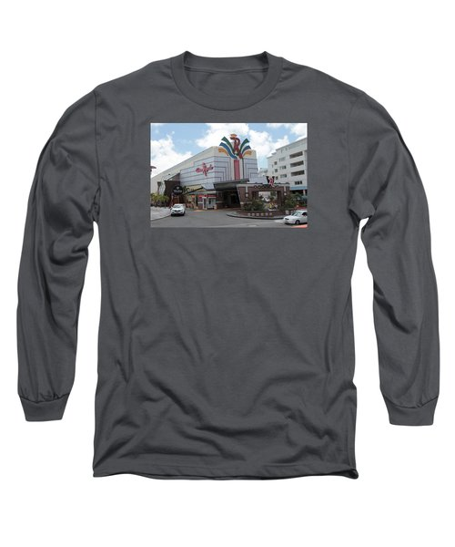 Casino Royale St. Maarten Long Sleeve T-Shirt by Christopher Kirby