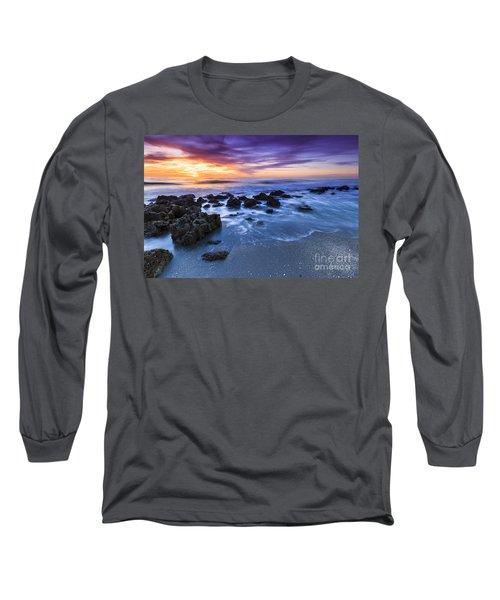 Casperson Beach Sunset 2 Long Sleeve T-Shirt