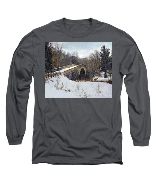 Casselman River Bridge Long Sleeve T-Shirt