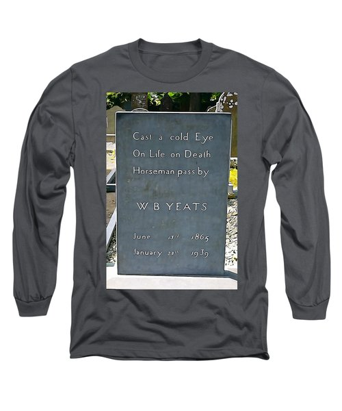 Cast A Cold Eye Long Sleeve T-Shirt by Charlie and Norma Brock