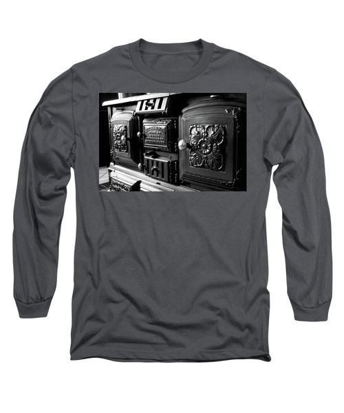Long Sleeve T-Shirt featuring the photograph Cast Iron Character by Greg Fortier