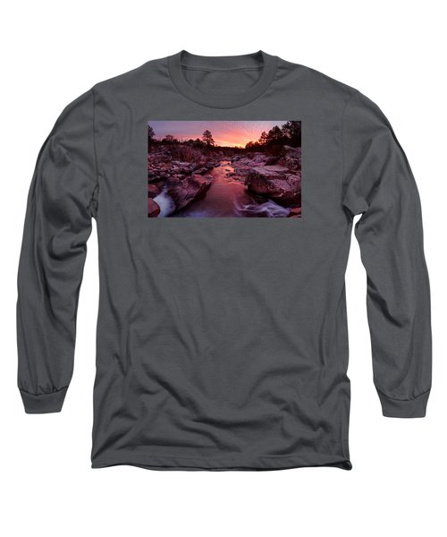 Caster River Shutins Long Sleeve T-Shirt by Robert Charity