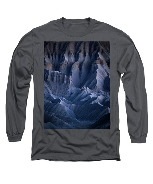 Long Sleeve T-Shirt featuring the photograph Castle Blue by Dustin LeFevre