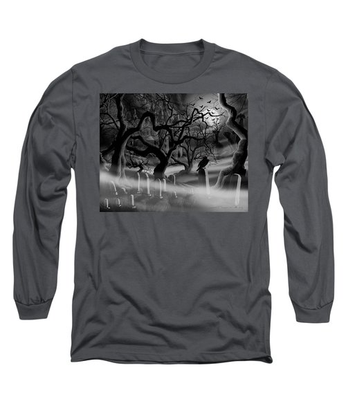 Castle Graveyard I Long Sleeve T-Shirt