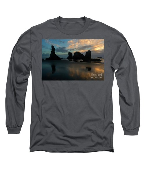 Long Sleeve T-Shirt featuring the photograph Castles In The Sand by Mike Dawson