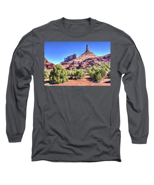 Castleton Tower Long Sleeve T-Shirt by Alan Toepfer