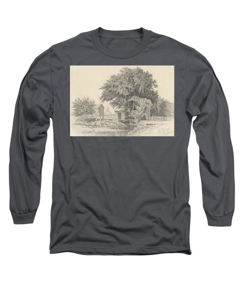 Castleton, Vermont, 1871 Long Sleeve T-Shirt