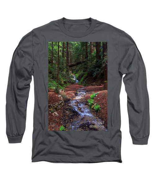 Castro Canyon In Big Sur Long Sleeve T-Shirt