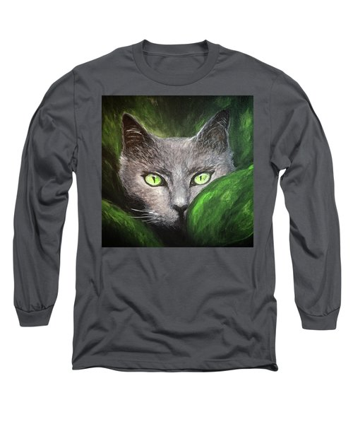 Cat Eyes Long Sleeve T-Shirt