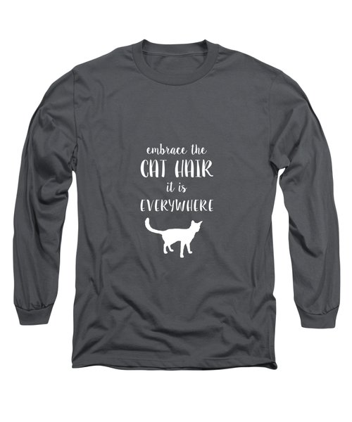 Cat Hair Long Sleeve T-Shirt