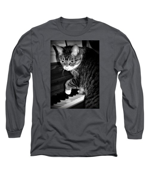 Cat Jammer Long Sleeve T-Shirt