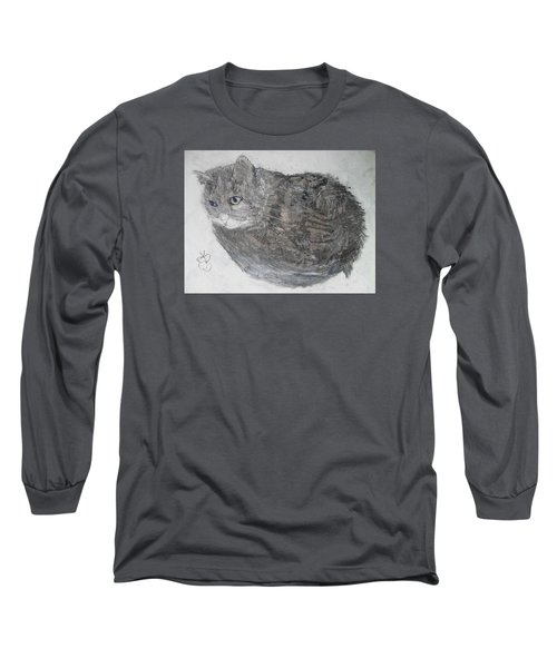 Cat Named Shrimp Long Sleeve T-Shirt