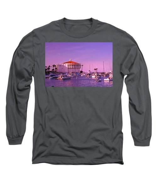 Catalina Casino Long Sleeve T-Shirt by Marie Hicks