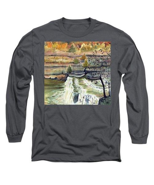 Cataract Falls Long Sleeve T-Shirt