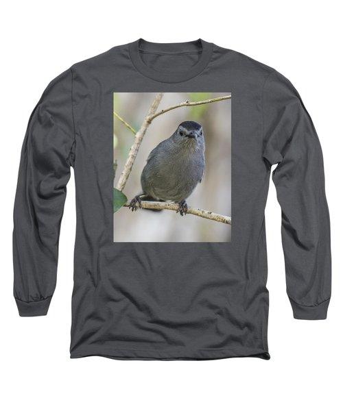 Catbird Portrait Long Sleeve T-Shirt