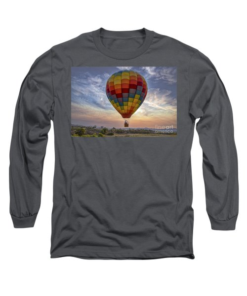 Long Sleeve T-Shirt featuring the photograph Catch The Breeze by Mitch Shindelbower